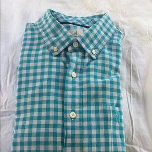 Johnnie-o long sleeve button down plaid